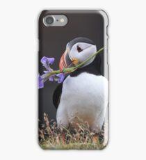 Romantic Puffin iPhone Case/Skin