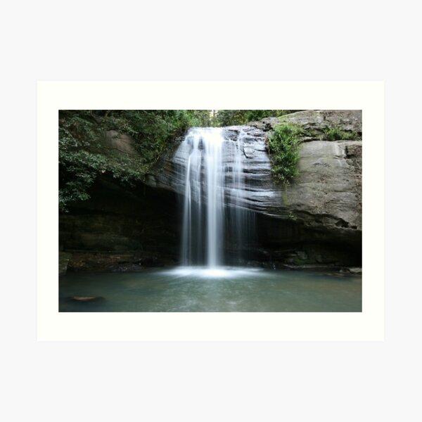 Serenity Falls Art Print