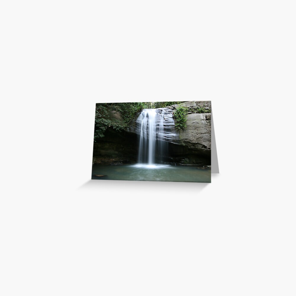 Serenity Falls Greeting Card