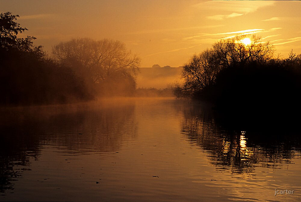 River Dawn 2 by jcarter