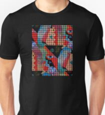 INSIDE THE SCREEN LOOKING OUT Unisex T-Shirt