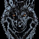 BLACK WOLF by fuxart