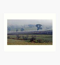 Cootamundra Fog Art Print