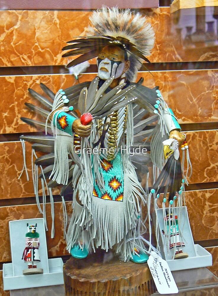 Kachinas at Crazy Horse by Graeme  Hyde