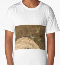 Blue Skimmer  Long T-Shirt