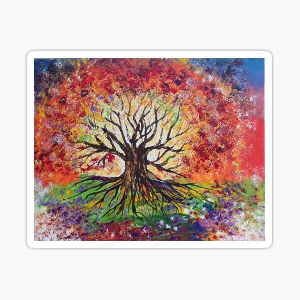 Tree of Light Sticker