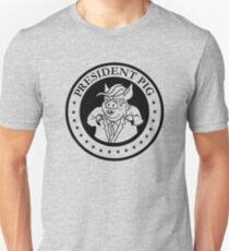 President Pig Presidential Seal Unisex T-Shirt