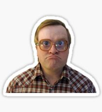 Bubbles from Trailer Park Boys Sticker