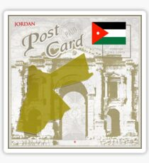 Jordan Curio Post Card Sticker