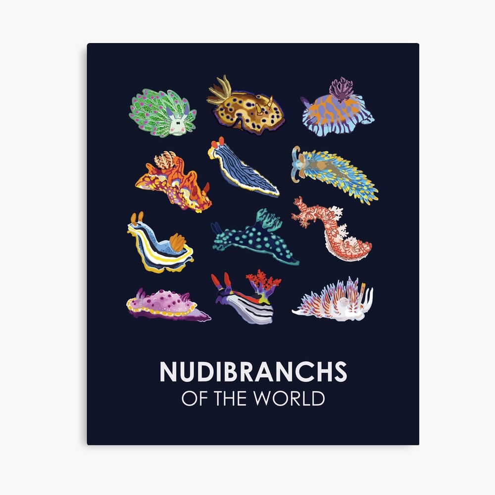 Nudie Cuties Canvas Print
