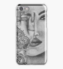 Eye Of The Beholder Portrait iPhone Case/Skin