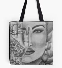 Eye Of The Beholder Portrait Tote Bag