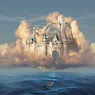 Castle in the Sky or Clouds of Shattered Dreams by George Grie