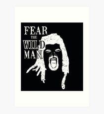 The wildman  Art Print