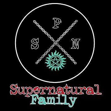 Supernatural Family by PrincessSchez