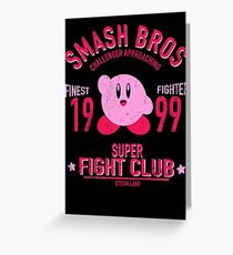 Dream Land Fighter Greeting Card