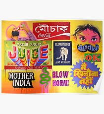 """Taste of India"" Poster"