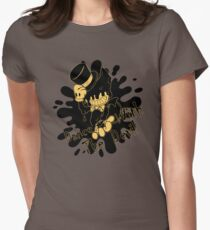 Bendy Dance With The Devil Womens Fitted T-Shirt