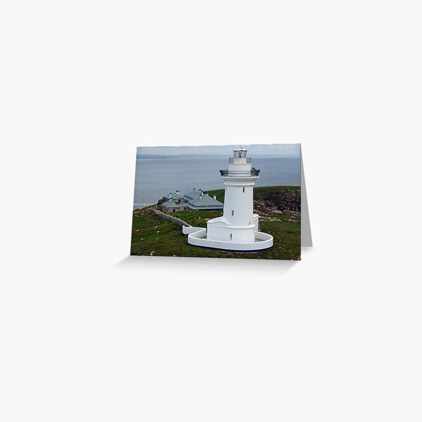 South Solitary Island, NSW Greeting Card