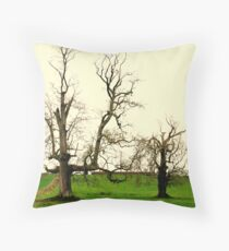OUR PLANET IS DIEING Throw Pillow