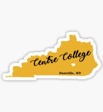 Centre in Central KY Sticker