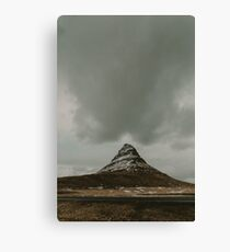 Iceland Kirkjufell Mountain Canvas Print