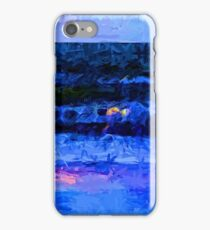 Wild Blue Sea under the Lavender Sky iPhone Case/Skin