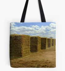Drying the hay Tote Bag