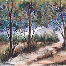 Colourful Bluegums by Maree Clarkson