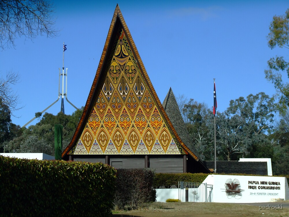 Papua New Guinea High Commission by pedroski
