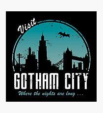 Visit Gotham City Photographic Print