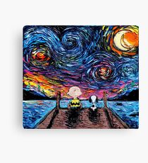 snoopy charly Canvas Print
