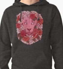 Lion of Roses Pullover Hoodie