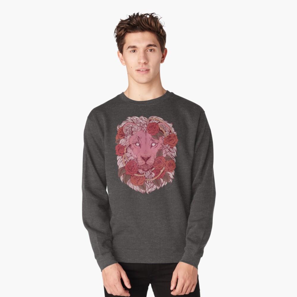 Lion of Roses Pullover Sweatshirt