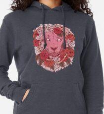 Löwe der Rosen Leichter Hoodie