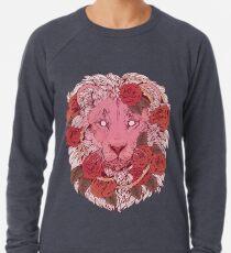 Sudadera ligera León de rosas