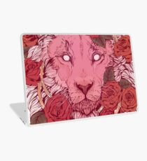 Lion of Roses Laptop Skin