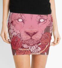 Lion of Roses Mini Skirt