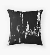 Japan - Tokyo, Shinjuku, Kabukicho - Red Light District Throw Pillow