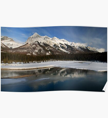 Yoho Mountains Poster