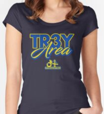 Trey Area Women's Fitted Scoop T-Shirt
