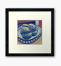 Biscuits still life Framed Print