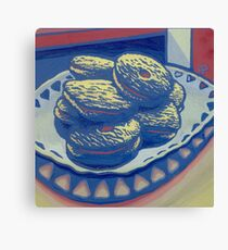 Biscuits still life Canvas Print