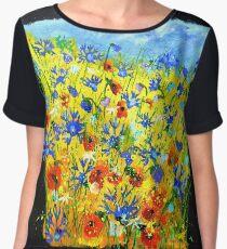 Wild flowers 677142 Chiffon Top