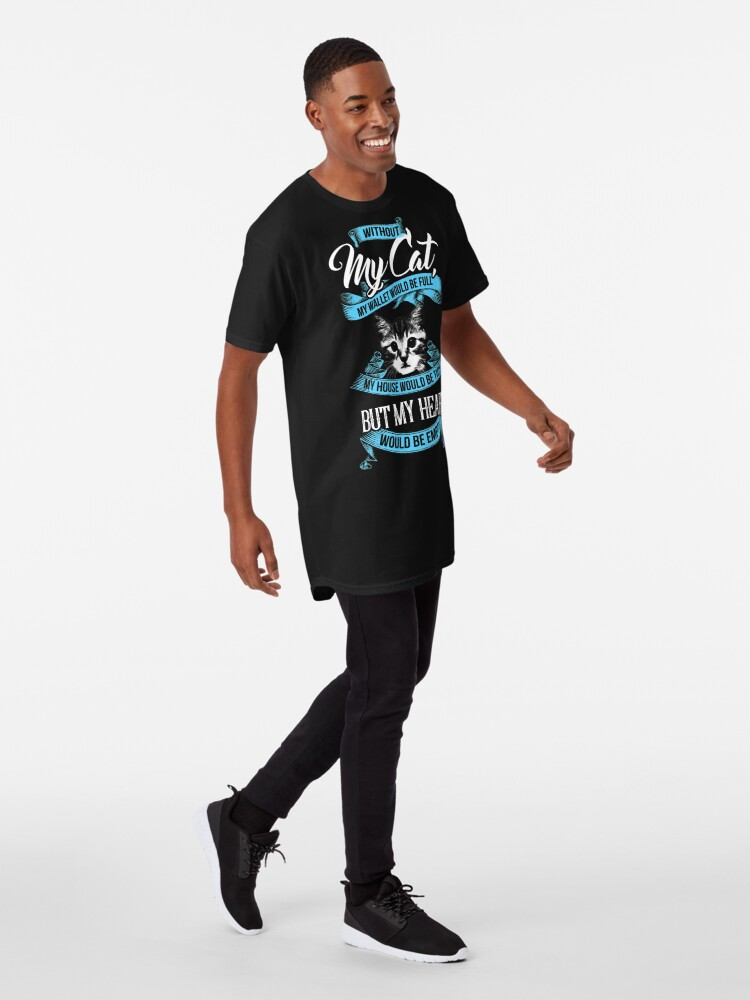 Vista alternativa de Camiseta larga GATO