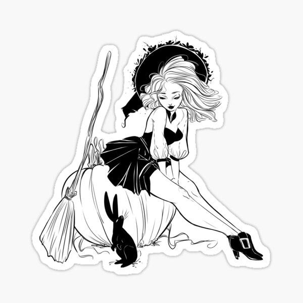 Witchtacular Sticker