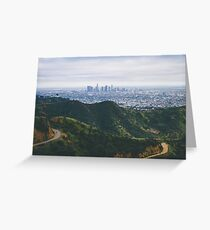 Griffith Park Greeting Card