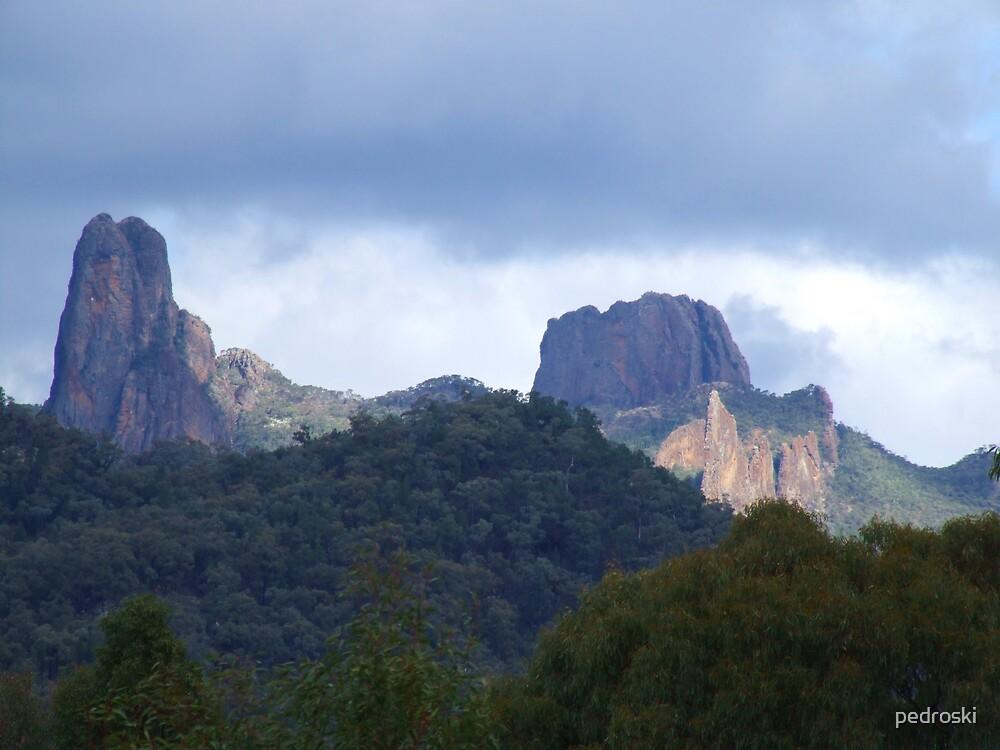 Warrumbungles Mountains by pedroski