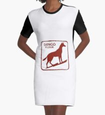 Dingo Flour Graphic T-Shirt Dress