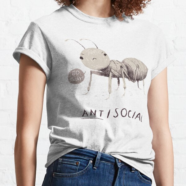 ant-isocial Classic T-Shirt